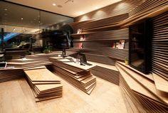 Shun*Shoku Lounge progettato Kengo Kuma per Gurunavi