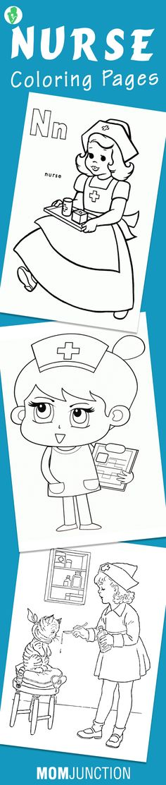 Top 10 Nurse Coloring Pages For Your Little Ones