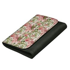 Get yourself a new Vintage wallet from Zazzle. Shop our amazing selection and find the perfect wallet or money clip to hold your cash! Vintage Pink, Pink Roses, Wallets, Pretty, Roses