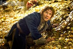 First picture from 'The Hobbit: The Desolation of Smaug!!  This is what he looks like when he sees Sherlock again.