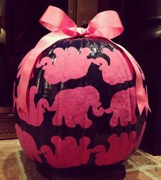Lilly Elephant Pumpkin... OBSESSED