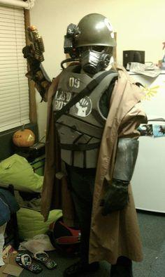 My NCR Ranger costume, made by me.  #ThinkGeekoween