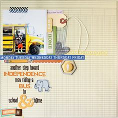 independence bus *COCOA DAISY* - Two Peas in a Bucket