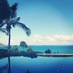 Views from the infinity pool - The Westin Princeville Ocean Resort Villas #svnlife #infinitypool