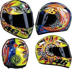 VR46 helmet Custom Motorcycle Helmets, Racing Helmets, Valentino Rossi 46, Vr46, The A Team, Cars And Motorcycles, Motorbikes, Rossi Motogp, Motorcycle Helmets