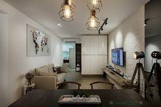 HDB Modern Scandinavian @ Blk 169B Punggol Field - Interior Design Singapore
