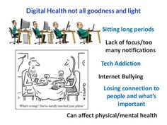 digital health affect in health, both physically and mental