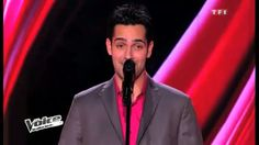 """Yoann Fréget - French """"The Voice"""" winner 2013 - """"The greatest love of all"""" (auditions)"""