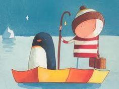 Oliver Jeffers, one of my favourite childrens books illustrators.