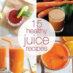 ZUMOVAL JUICERS: 15healthy juice recipeshttps://www.babble.com/bes...
