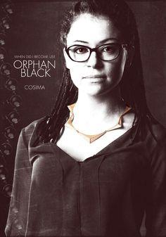 Orphan Black Cosima. I love love LOVE this show.