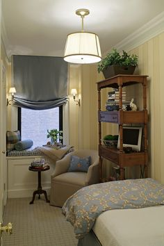 Stylish small bedroom