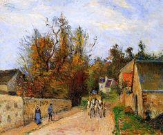 Camille Pissarro Impressionist   Jacob Camille Pissarro 1830-1903   French Impressionist