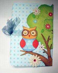 Mini álbum owl 3 close