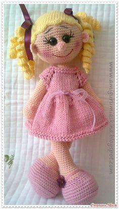Вязаная куколка (перевод описания) - Страна Мам