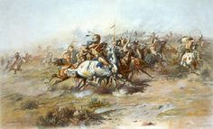 """On June 25, 1876, Lt. Col. Custer and the 210 men of U.S. 7th Cavalry are killed by Sioux and Cheyenne at Little Big Horn in Montana. The event is known as """"Custer's Last Stand."""""""