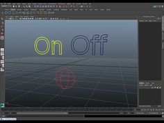 Rigging Tip: Creating Multi-Curve Controls in Maya - YouTube