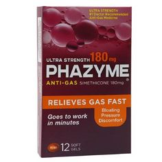phazyme 250 mg maximum strength softgels 24 ea strength and ea