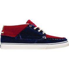 0fcc5540e58 Globe The Bender Shoes in Navy with Dark Red for £50 at Urban Surfer with