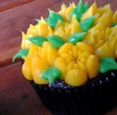 Cupcake Floral Instagram @bolode_colher