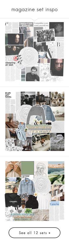 """magazine set inspo"" by here-i-stand ❤ liked on Polyvore featuring art, emmasmarvel1kchallenge, Prada, Threshold, NARS Cosmetics, Clips, Brinkhaus, Jet Lag, Danya B and Steidl"