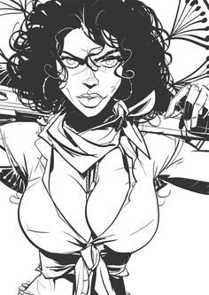'Laconic' sketching some characters by Otto Schmidt Art.More Characters here.