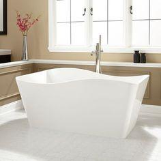 Evora Freestanding Bathtub - MOST COMFORTABLE BATHTUB EVER ...