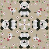 Biscornu cross stitch