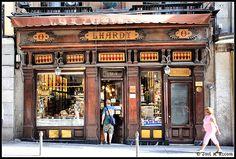 Lhardy (Madrid). Pato a la naranja y souffle.