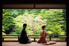 Wedding Couple Photos, Wedding Couples, Wedding Kimono, Japanese Wedding, Japan Fashion, Kimono Fashion, Wedding Bells, Fashion Photo, Big Day