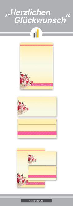 Briefpapier / Motivpapier HERZLICHEN GLÜCKWUNSCH - Sagen Sie es »durch die Blume« mit unseren variantenreichen Blütenmotiven oder Designs aus vielen anderen Themenbereichen, um einem persönlichen Schreiben den richtigen Rahmen zu verleihen. Das Verwenden Sie unsere Produkte als Werbewirksame Zielgruppenmailings, Weihnachtsgrüße, für Angebote, als Saison-Briefpapier, für Einladungen, Glückwünsche, Speisekarteneinlagen, Aktionsprogramme, Feste, als Aushang im Schaufenster und für weitere…
