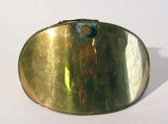Online veilinghuis Catawiki: Geelkoperen buikkruik - 19e eeuw