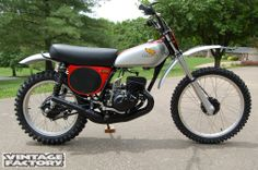 1975- Honda CR125R Elsinore which was my favourite :) a real pro cross bike, 26 HP - I was 18 then