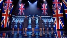 The D-Day Darlings are here to close the show in style and remind us what Britain's Got Talent is all about. Watch as they remind everyone to be proud to be British, and are joined by some very special guests on stage! Hms Pinafore, Lancaster Bomber, Ethiopian Music, Rule Britannia, Britain Got Talent, Digital Backdrops, Real Hero, D Day, Timeless Classic