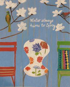 Original Acrylic Painting on Canvas 8 X 10, Canvas Art, Etsy Art, By Zana Lokmer, Wall Art, Decorative Art