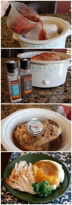 Turkey Breast of Wonder (Crock Pot) | Foodboum