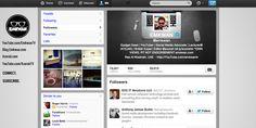 New #twitter layout…