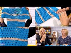 Tığ işi Elbise Yapımı - Nurgün Tezcan 11 Ekim 2016 - YouTube