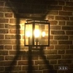 K.S. Verlichting De Vecht Wandlamp 37 x 22 cm - Zwart