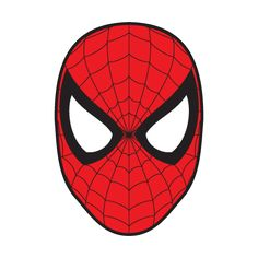 Spiderman Mask vector, Spiderman Mask in .EPS, .CDR, .AI format