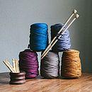 Recycled T Shirt Yarn For Knitting Crochet