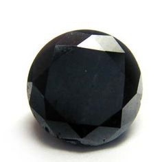 3.5ct. Round Fancy Black Diamond