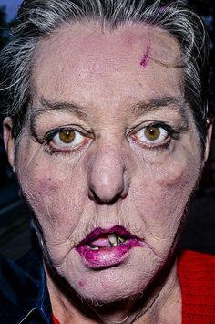 Face - Bruce Gilden