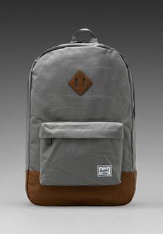 Herschel Supply Co. Heritage Backpack in Grey