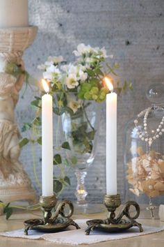 SO GORGEOUS!! (A few candles, flowers, a few bits & pieces ........VOILA!! - MAGICAL!!