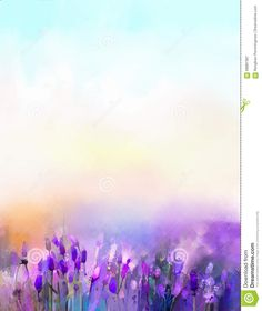 oil-painting-lavender-flowers-meadows-abstract-sunshine-flower-field-soft-purple-color-blur-style-68887367.jpg (1095×1300)
