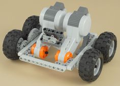 LEGO Mindstorms NXT 4x4 Chassis
