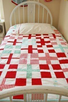 lovely cross quilt