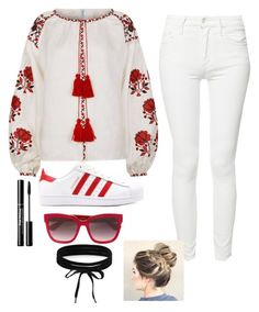 """is it great"" by queenebitsam ❤ liked on Polyvore featuring Fanm Mon, Mother, Gucci and Boohoo"