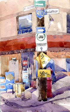 shari blaukopf paintings | New images Sketchbook Montréal 2011 will be posted every Monday and ...